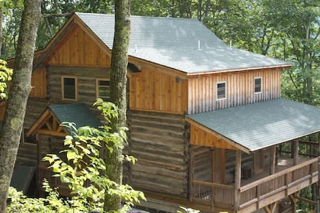 Camp Cabin at Cataloochee Ski area - Maggie Valley