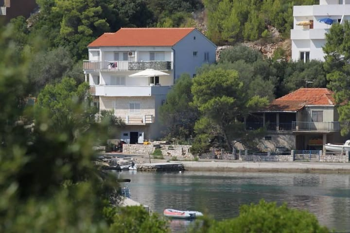 Studio flat with balcony and sea view Pasadur, Lastovo (AS-8351-b) - Pasadur - Inny