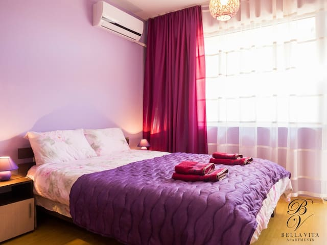 Cozy Purple Paradise in Blagoevgrad