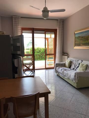 Affitto appartamento con giardino ad Andora