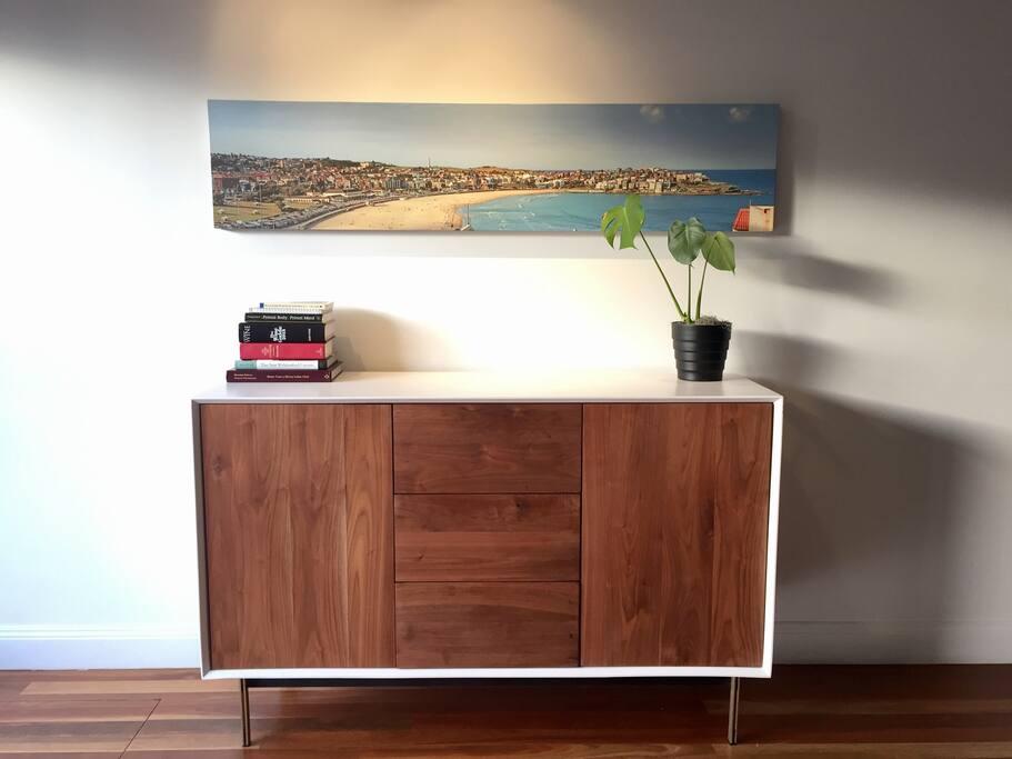 Designer living: enjoy our hand selected furniture and art.