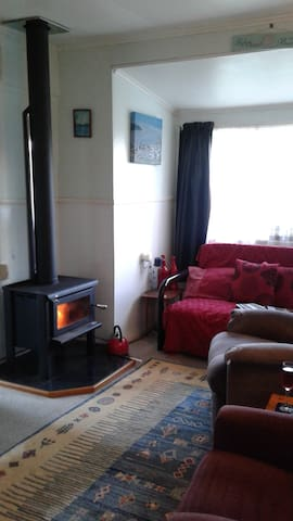 Cosy fireplace for the colder nights