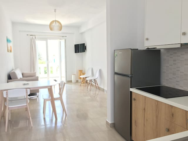 Brand New 2-Bedroom Apartment at Ornos Beach