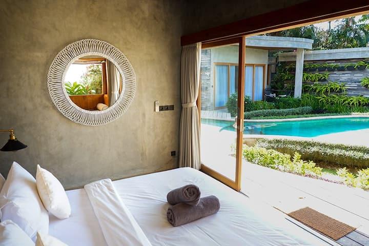 Eco- Friendly Boutique Hotel~500m to Bingin Beach