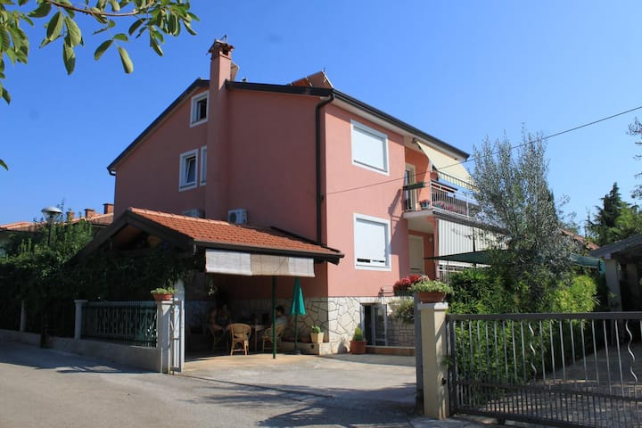 One bedroom apartment with terrace Umag (A-7063-b)