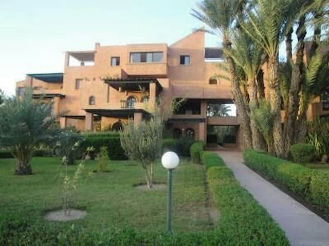 Residence dar dmana appartements louer for Airbnb marrakech