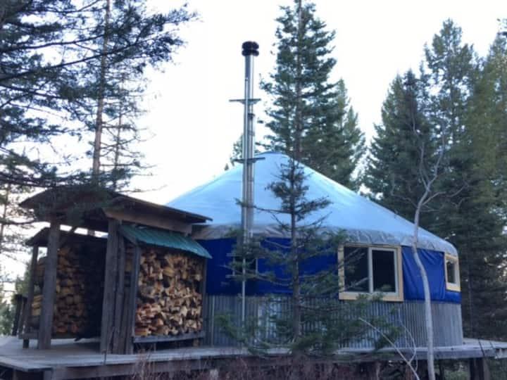 Sunrise Retreat Yurt Accommodations