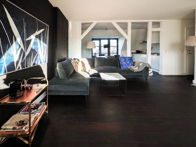 Luxurious & Cozy Scandi-penthouse in central Cph