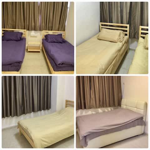 Cozy 4 bedroom apt in the heart of Causeway Bay