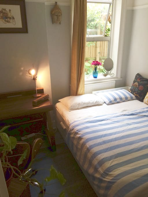 Bedroom as comfortable large double bed 3