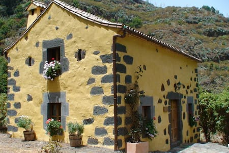 Coqueta casa rural de piedra, con encanto - Valleseco - Casa