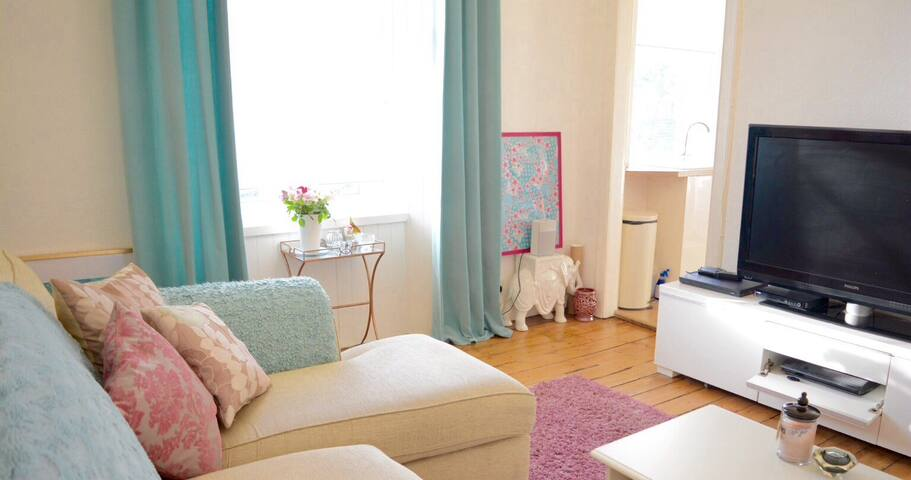 Bright, beautiful Portobello Flat - Edinburgh - Byt