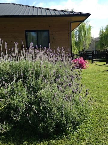 casa de campo estilo nórdico, íntima y confortable - General Rodriguez - Rumah