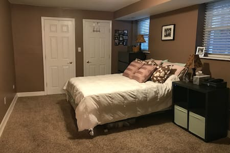 Spacious condo with an entire floor to yourself!