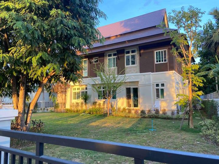NEWResort fully furniture@KP9 Amphoe Hang Dong CNX