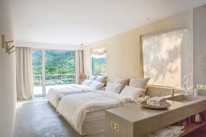 度假的袋鼠·野趣B山海景观房