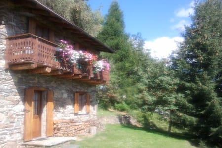 Baita di montagna di Valtellina - Prato Valentino - Haus