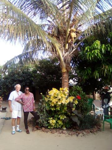 Chez Fatou et Gégé , logement chez l'habitant