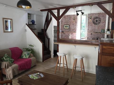 Le Hérisson Voyageur - maison avec jardin