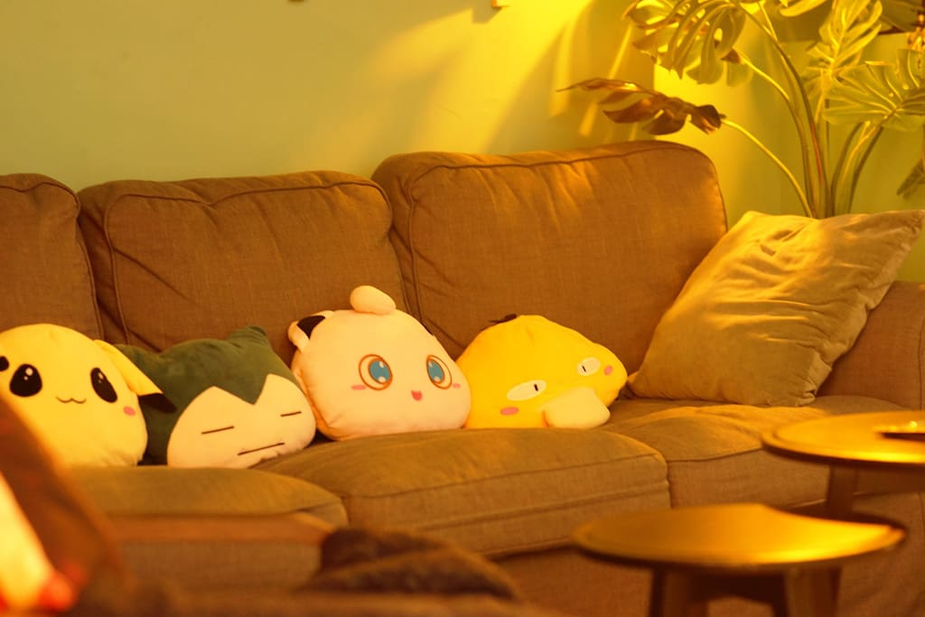 客厅:友人,这里有属于我们的青涩岁月