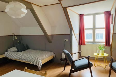 Cozy attic studio center Leerdam near Utrecht