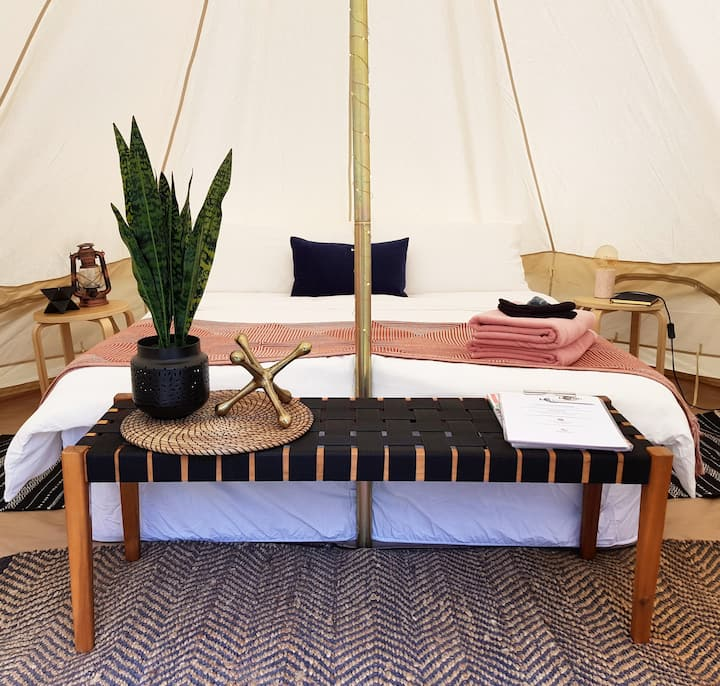 Glamping in The Mornington Peninsula