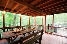 Covered Patio and Open Deck Exterior