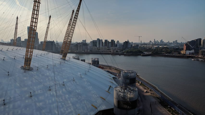 Most incredible views of London and the O2