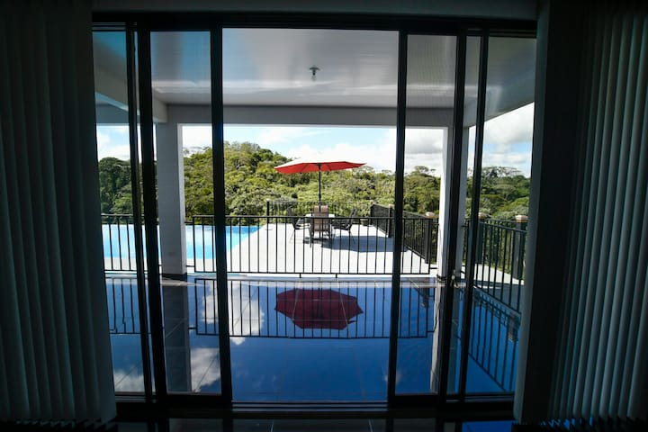 Exit To Pool Area Deck