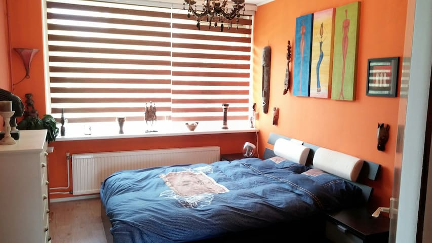 Colorful comfortable 2 person room - Eindhoven