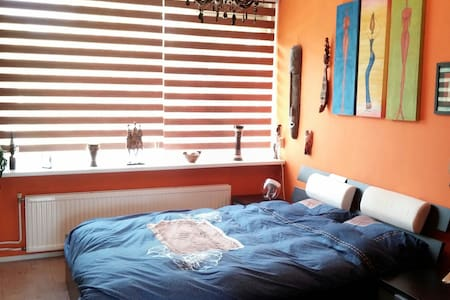 Colorful comfortable 2 person room - Eindhoven - Lejlighed