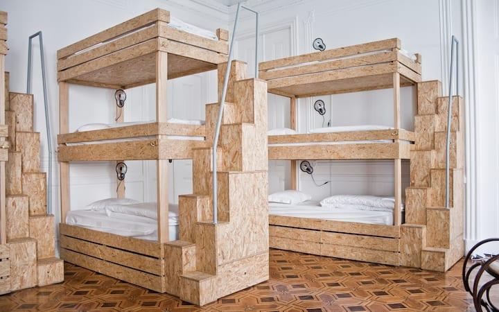 Bed in 12-bed Dorm