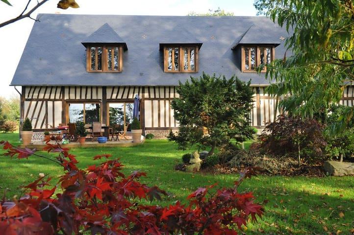 """Maison Normande """"Au Temps des Buis"""" - Gonneville-sur-Scie - House"""