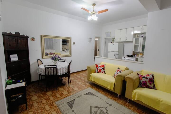 Apartamento Retrô em Copacabana