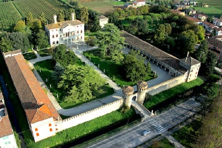 PALLADIAN PALACE CLOSE TO VENICE: Sleeps 22 - Roncade - Castle