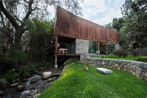 casa de campo de arquitectos en Santa Eulalia