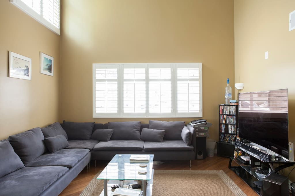 Living Room and Common area. Welcome Home & Friendly...
