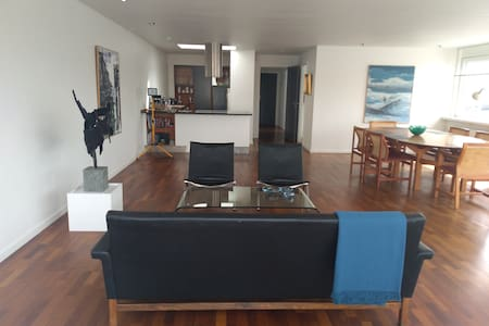 Open space apt in centrum WiFi and roof terracce.