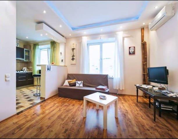 Уютная студия напротив МИД - Moscou - Appartement