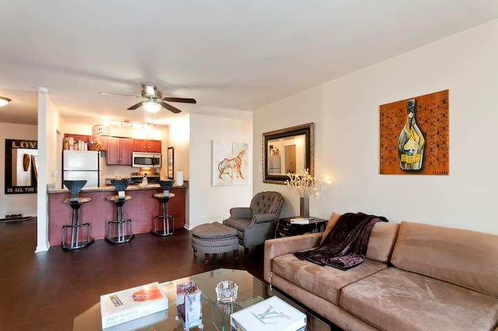 1 BDR APT Dwntwn- Walk to ALL Stadiums & Theaters!