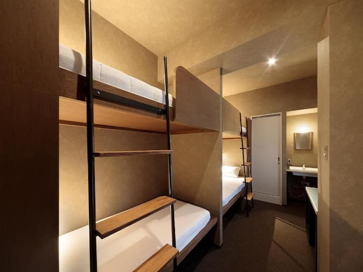 5mins->Hakata Station/4 guests room/NoMeal