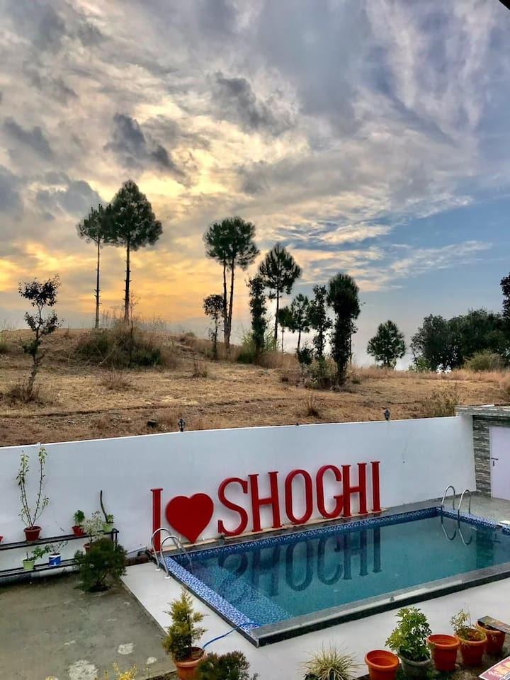 4 Bedroom Cottage ( Shimla, Shoghi) swimming Pool