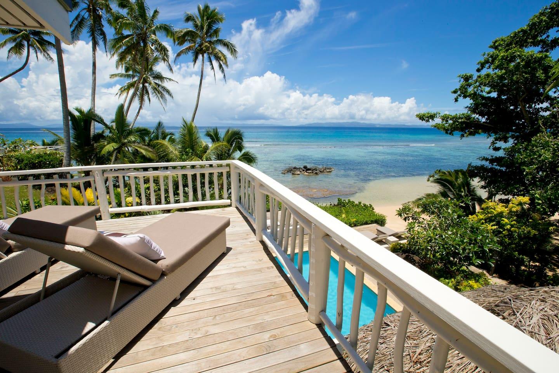 Beach Villa deck