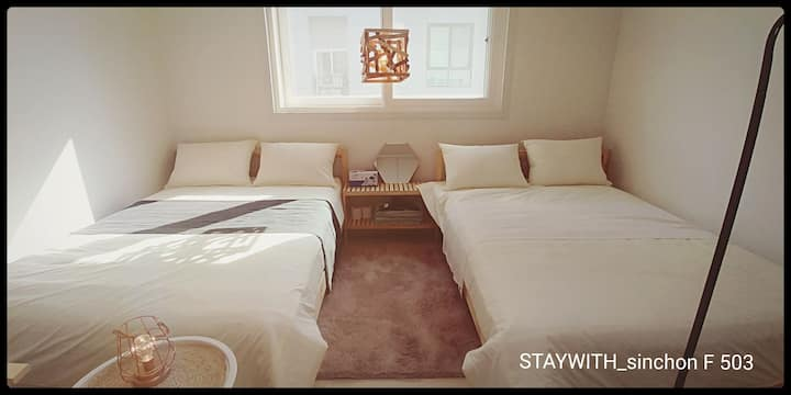 STAYWITH_sinchon Family room 503