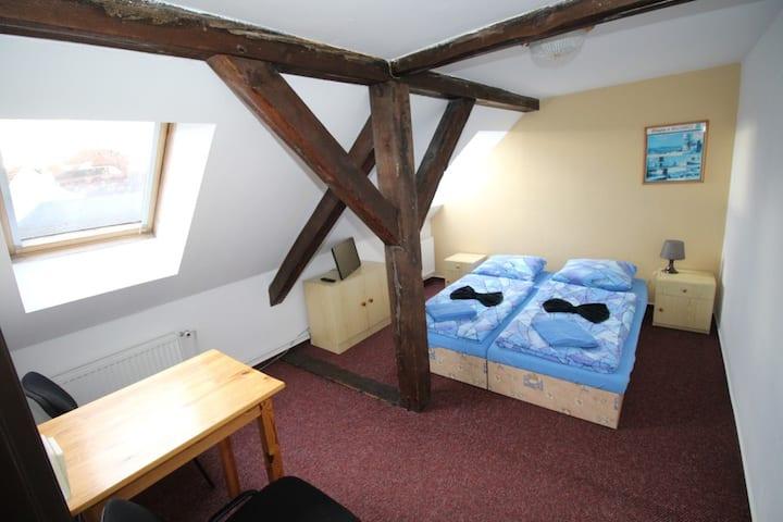 Dvoulůžkový pokoj v 2. patře
