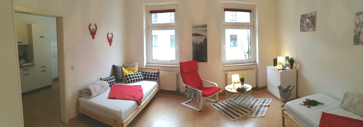 Beautiful and comfortable apartment in Leipzig