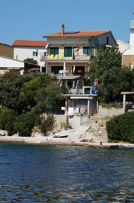 Haus von der Meerseite