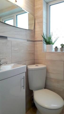 Private en suite W/C & shower
