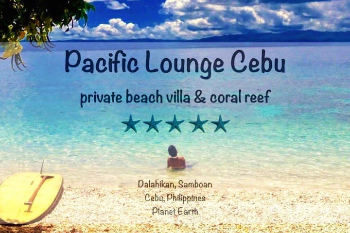 Pacific Lounge Cebu:  Exclusive Beach & Coral Reef