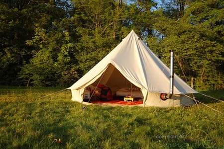 Bell tent in the Forest (Red) - Góis - 帐篷